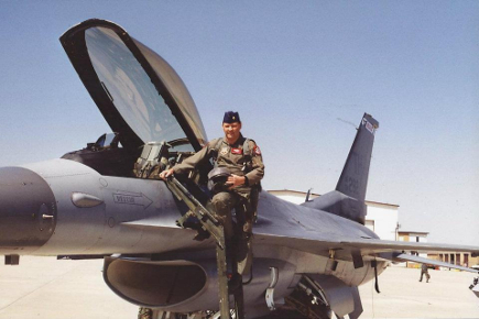 Wyatt Stedman F-16 Pilot now a Disability Rep